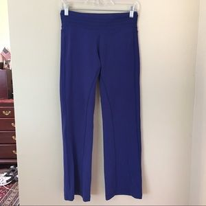 PRANA Blue Short Inseam Leisure Yoga Pants Small